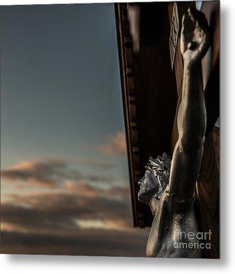 Faith Metal Print by Hannes Cmarits