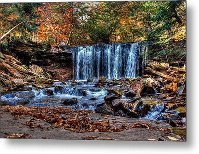 Metal Print featuring the photograph Fall Water Fantasy by David Stine