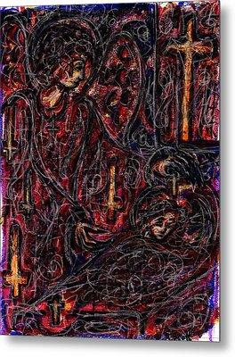 False Guardian Metal Print by Rachel Scott
