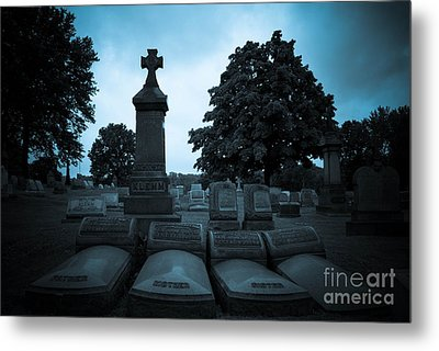 Family At Rest Metal Print by Amy Cicconi