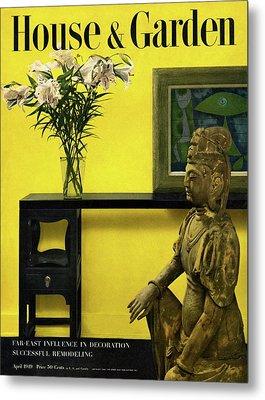 Far-east Influenced Decoration Metal Print