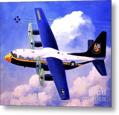 Metal Print featuring the painting Fat Albert by Stephen Roberson