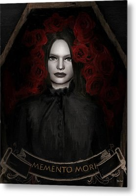 Fear Not Death Metal Print by Lourry Legarde