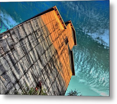 Feed And Grain Metal Print by Tom Druin