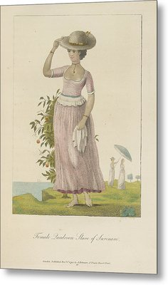 Female Quadroon Metal Print by British Library
