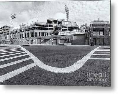 Fenway Park Vi Metal Print by Clarence Holmes
