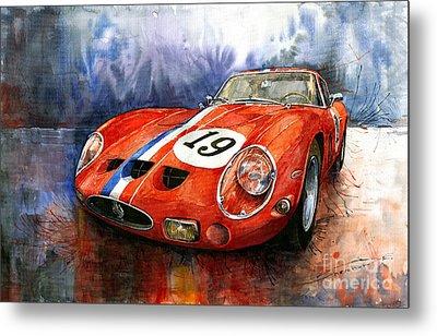 Ferrari 250 Gto 1963 Metal Print by Yuriy  Shevchuk