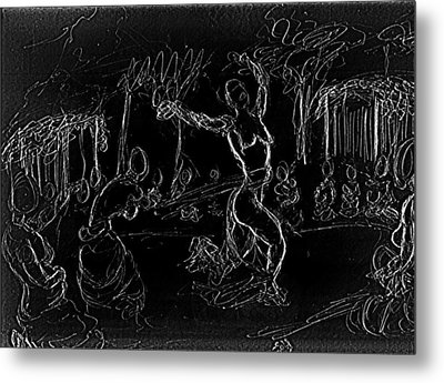 Fertility Dance Metal Print