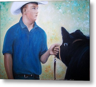 Ffa At The Fair Metal Print by Martha Suhocke