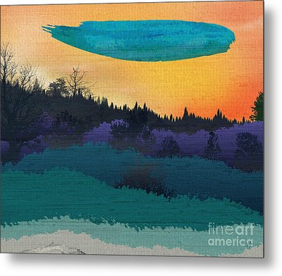 Field Of Colors And Shades Metal Print by Bedros Awak