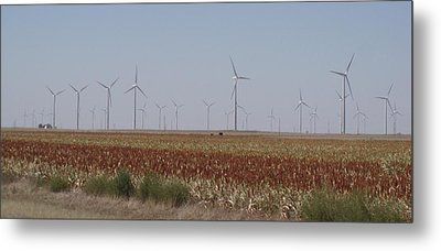 Metal Print featuring the photograph Field Of Wind by Fortunate Findings Shirley Dickerson