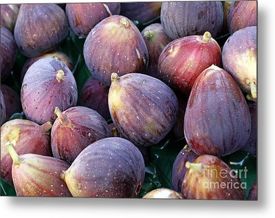 Figs Metal Print by Denise Pohl
