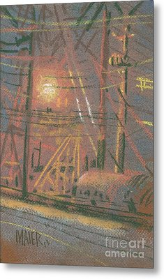 Fill Point Metal Print by Donald Maier