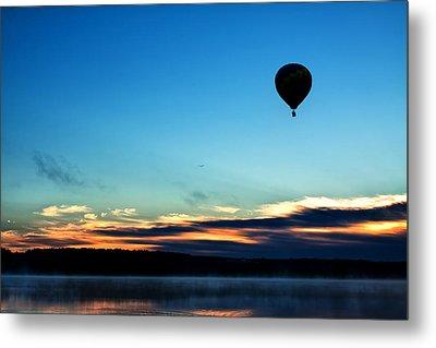 Final Flight - Hot Air Balloon Ride Metal Print by Gary Smith
