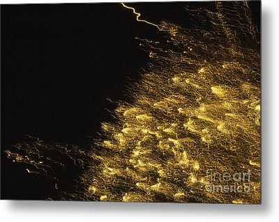 Fireworks Abstract 06 Metal Print by Crush Creations