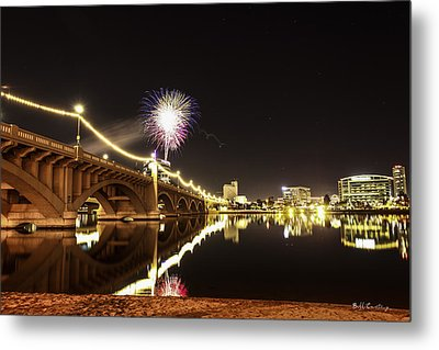 First Shot Of The Year Metal Print by Bill Cantey