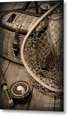 Fishing - All That Gear Metal Print by Paul Ward