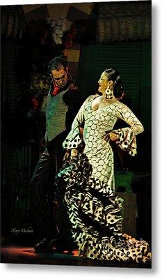 Flamenco Series No 11 Metal Print by Mary Machare