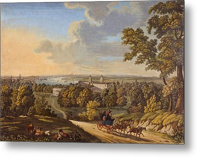 Flamstead Hill, Greenwich The Metal Print by English School