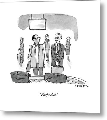 Flight Club Metal Print