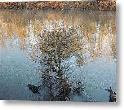 Metal Print featuring the photograph Flint River 24 by Kim Pate