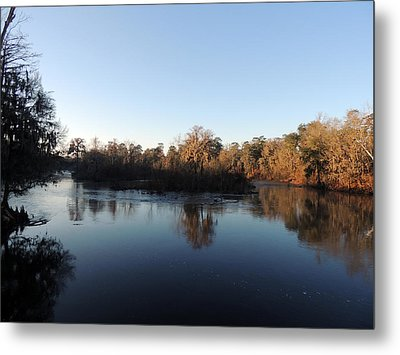 Metal Print featuring the photograph Flint River 26 by Kim Pate