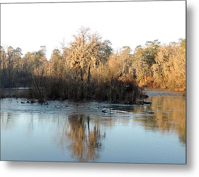Metal Print featuring the photograph Flint River 27 by Kim Pate