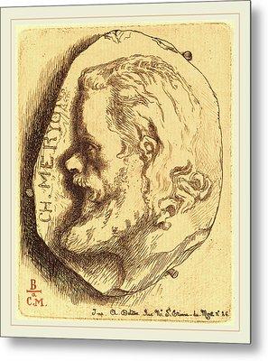 Félix Bracquemond French, 1833-1914, Charles Meryon Metal Print