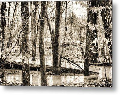 Flood Water Metal Print by J Riley Johnson