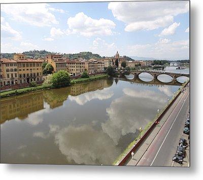 Florence In Springtime Metal Print