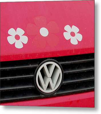 Flower Power Metal Print by Will Boutin Photos