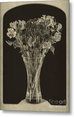 Flowers 1860s Metal Print by Edward Fielding