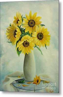 Flowers For You Metal Print by Sorin Apostolescu