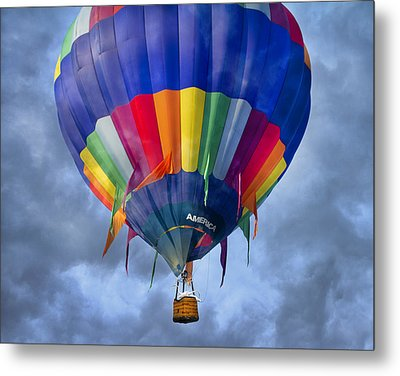 Flying The Coop Metal Print