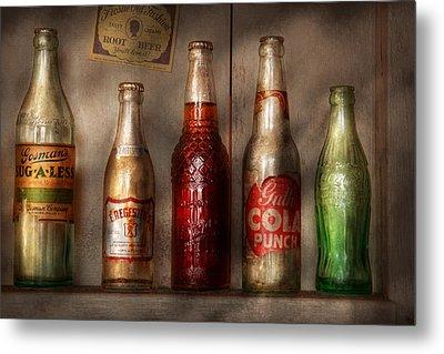 Food - Beverage - Favorite Soda Metal Print by Mike Savad