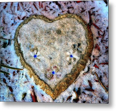 For The Love Of Winter Metal Print by Deena Stoddard