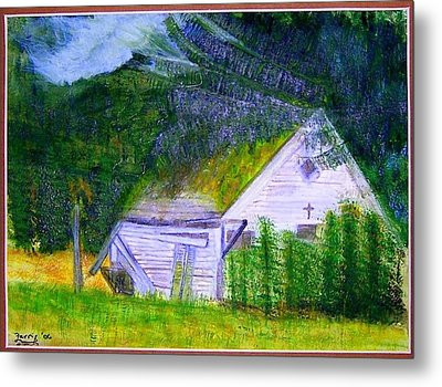 Forgotten In The Smokies Metal Print by Larry Farris