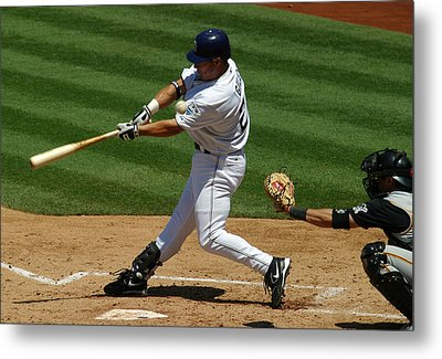 Fouling One Off Metal Print by Don Olea