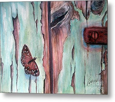Fragile Beauty Metal Print by Patricia Pushaw
