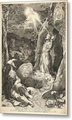Francesco Villamena Italian, Ca. 1566-1624 After Federico Metal Print by Litz Collection