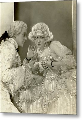 Fred And Adele Astaire Metal Print by Nickolas Muray