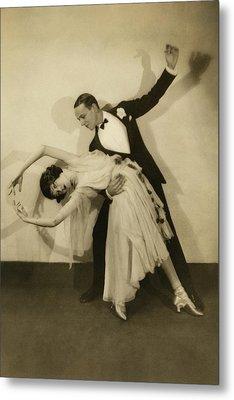 Fred Astaire Metal Print by Edward Steichen