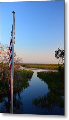 Freedom Pass Metal Print by Ken  Collette