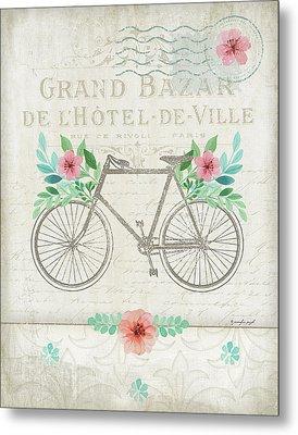 French Bike Metal Print by Jennifer Pugh