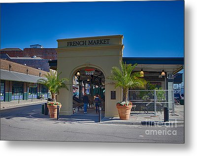 French Market Metal Print by Kay Pickens