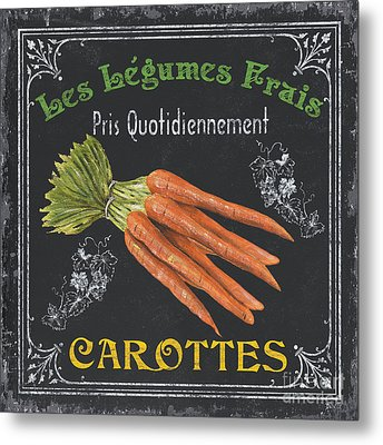 French Vegetables 4 Metal Print