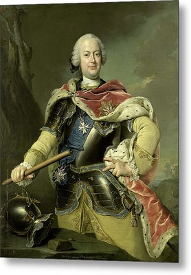 Friedrich Christian, Elector Of Saxony, Gottfried Boy Metal Print by Litz Collection