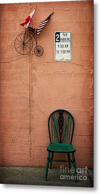 From Nine To Five Metal Print by Elena Nosyreva