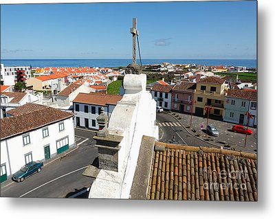 From The Church Tower Metal Print by Gaspar Avila