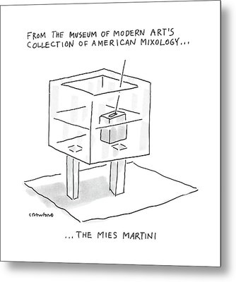 From The Museum Of Modern Art's Collection Metal Print by Michael Crawford